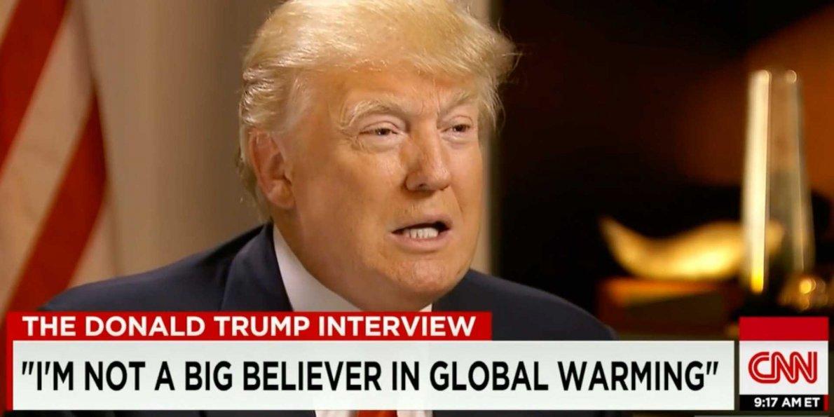 trump energia cambiamenti climatici elezioni USA