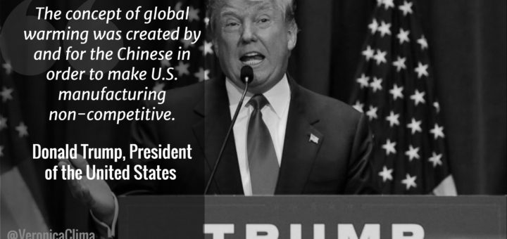 Presidente Donald Trump cambiamenti climatici energia